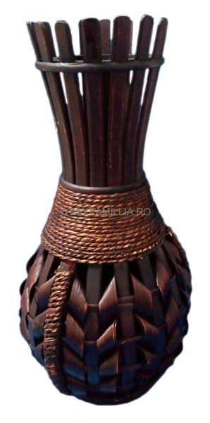 Vaza Din Bambus 88 Cm D164 De Culoare Maro Realizata Anuntul Ro